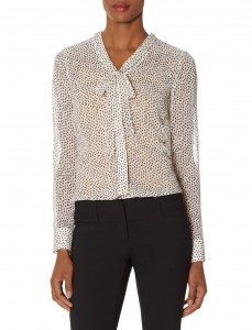 Bow Neck Layering blouse - $59.95 - thelimited.com