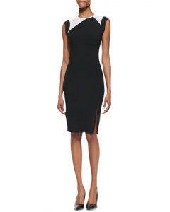 Short sleeve sheath dress - Photo credit: www.cusp.com