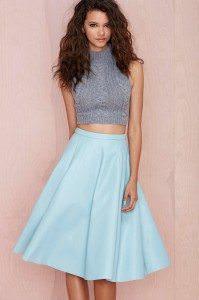 Vegan Leather Skirt - Photo credit: nastygal.com