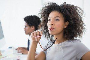 Conduct a passive job search - Photo credit: thenewblackchick.com