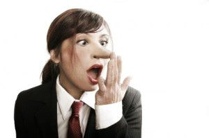 Is it OK to tell white lies at work - Photo: http://www.skepticalob.com