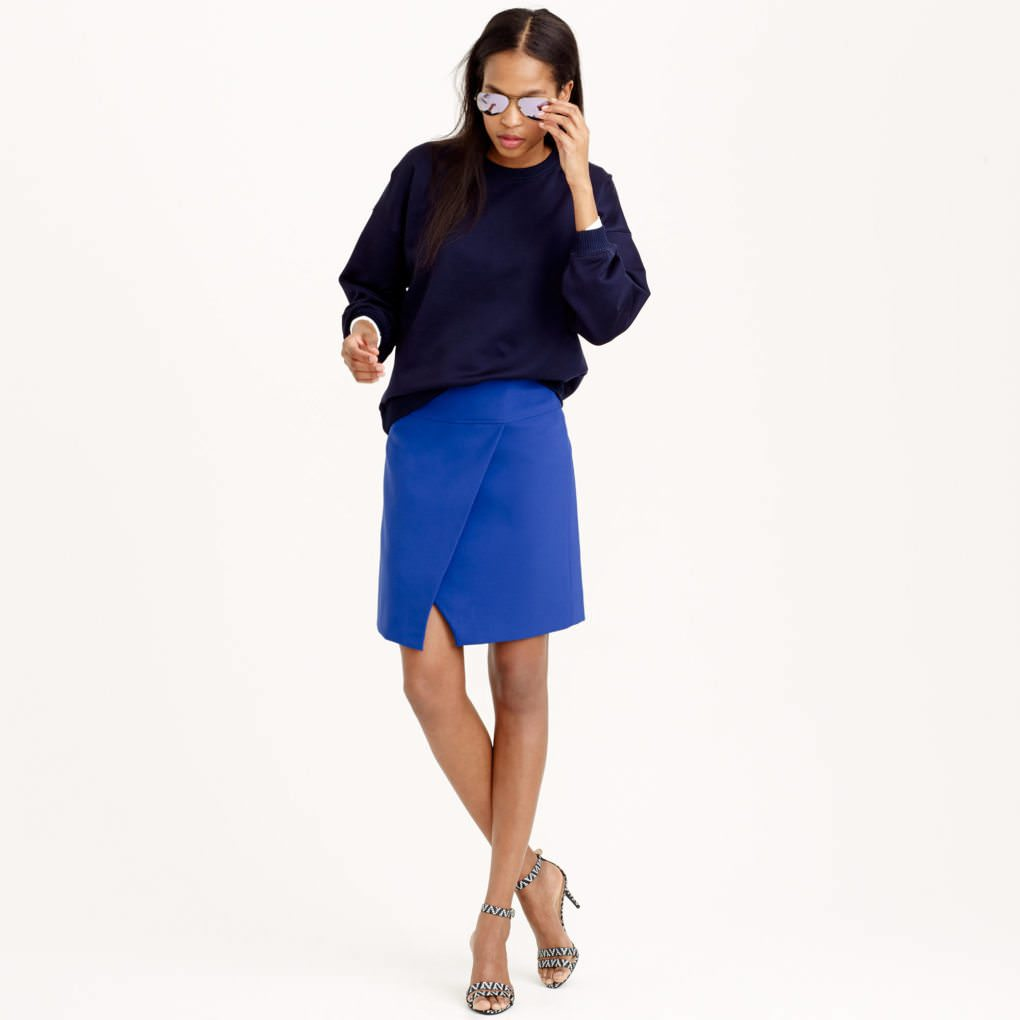 Work It: Crossover Wrap Skirt - The Corporate Sister