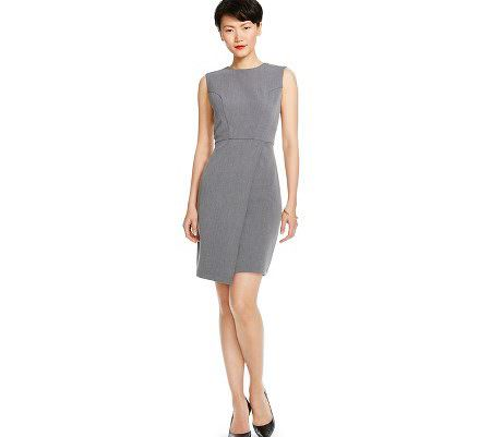 Wear to Work: Twill Sheath Dress - The Corporate Sister