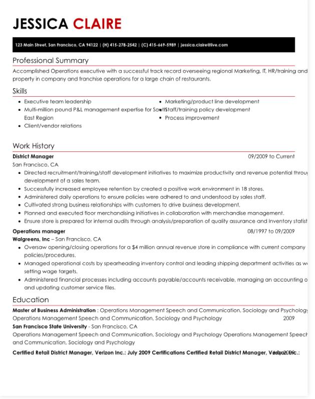 hloom resume template